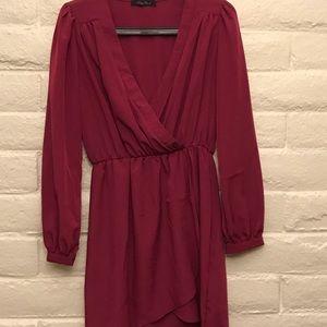 LOOK 🎀 Honey Punch Wrap Dress ❤️